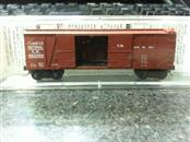 Micro Trains 29070 N-Scale 40' Outside Braced Box Car with 1 1/2 Doors